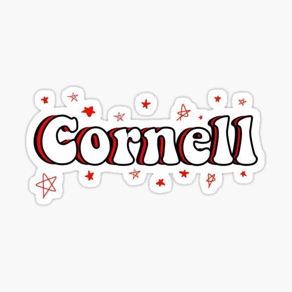 Cornell sticker Sticker