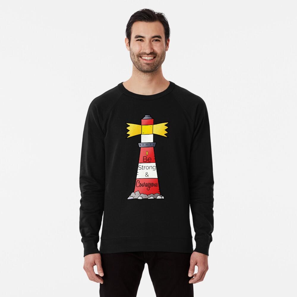 Be Strong & Courageous Lightweight Sweatshirt