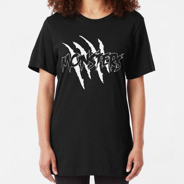 MONSTERS MERCHANDISE Slim Fit T-Shirt