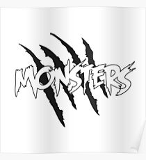MONSTERS MERCHANDISE Poster