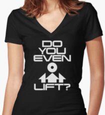 Heben Sie sogar? Shirt mit V-Ausschnitt