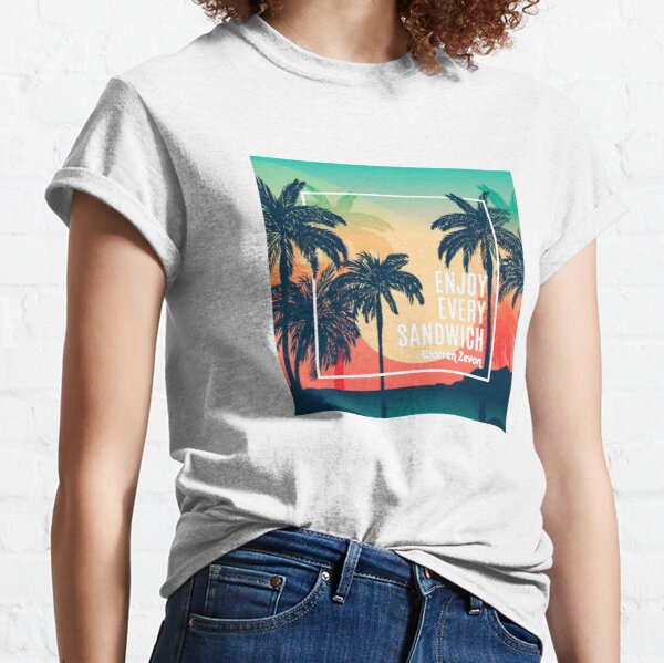 Enjoy Every Sandwich / Warren Zevon  Classic T-Shirt