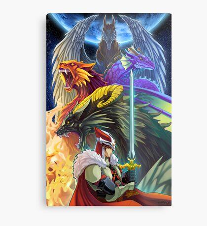 The Dragonmaster Metal Print