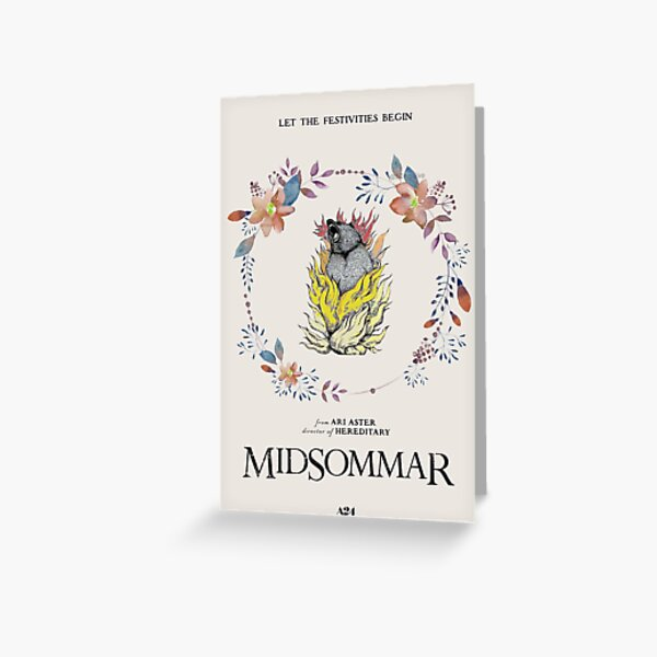 Midsommar Greeting Card
