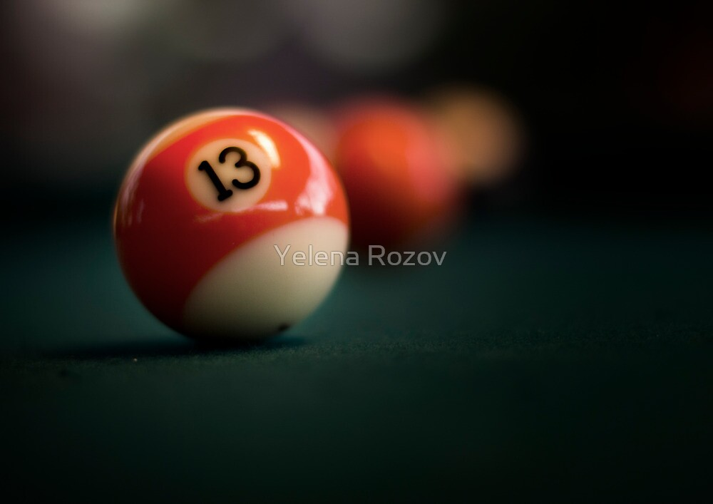 Lucky number by Yelena Rozov