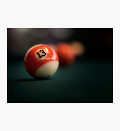 Lucky number Photographic Print