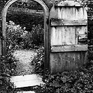 Gate to the orchard by Robert Down