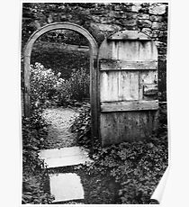 Gate to the orchard Poster