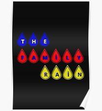 The Family Rain Logo Poster