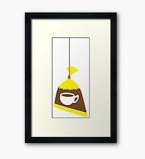 Singapore Malaysia cool coffee iced tea in a bag Framed Print