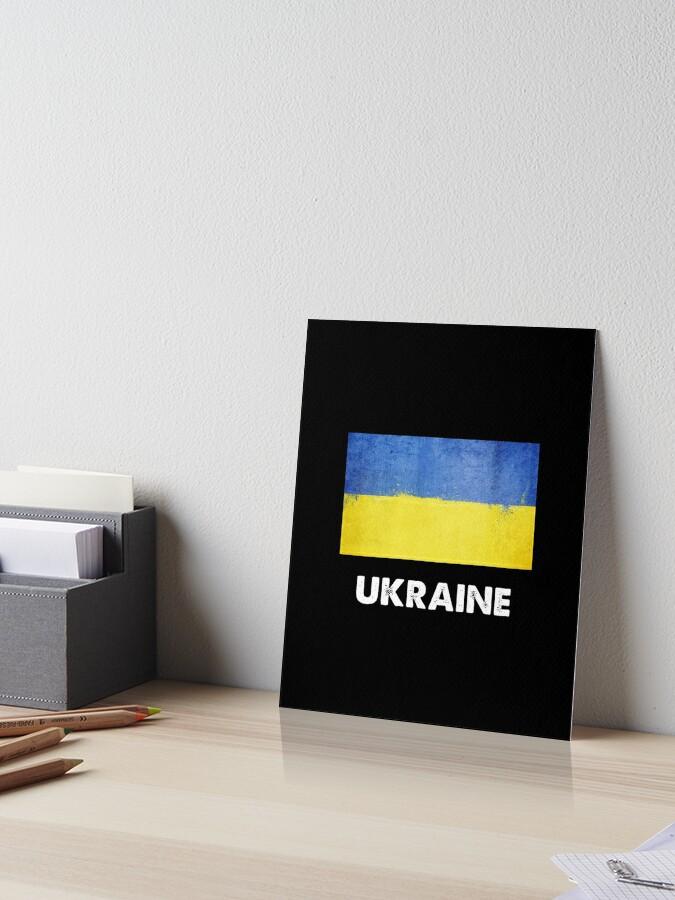 Ukrainian Flag Wall Art Print Design Backpack