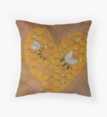 Hunnie Bee Throw Pillow