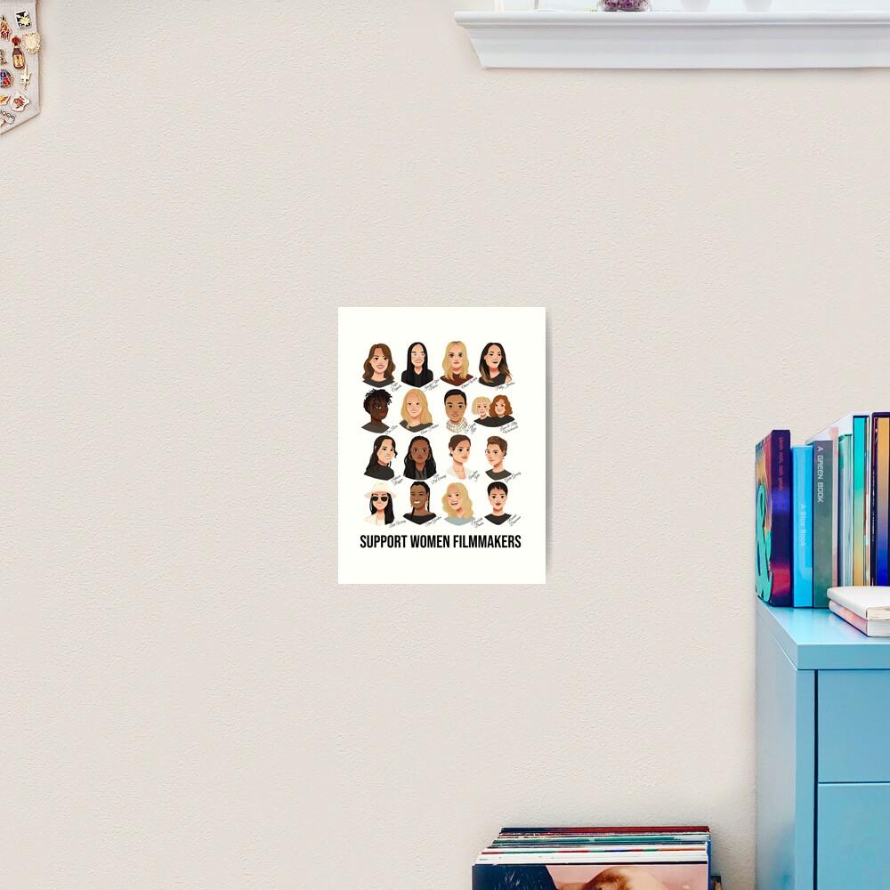 Support Women Filmmakers Art Print