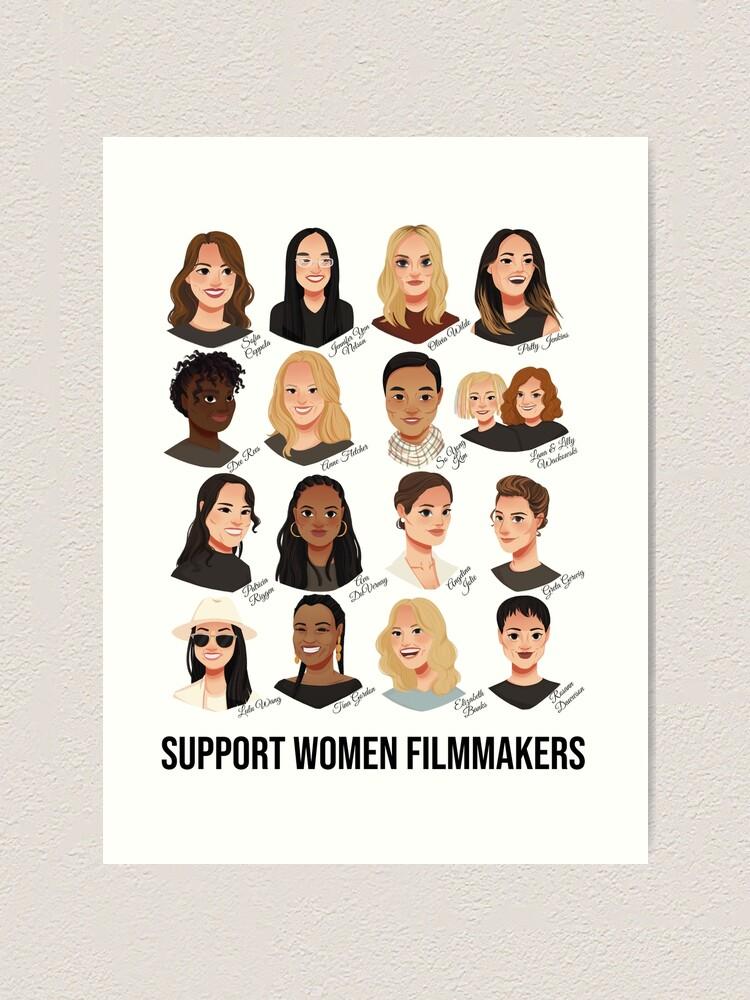 Alternate view of Support Women Filmmakers Art Print