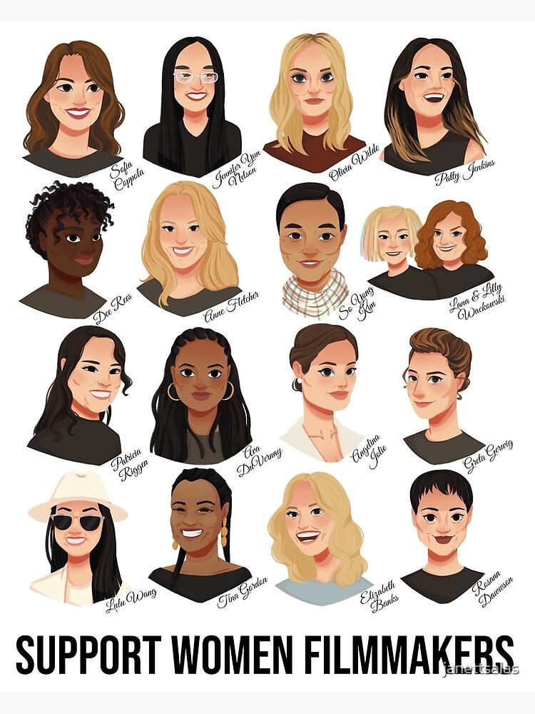 Support Women Filmmakers by janettsalas