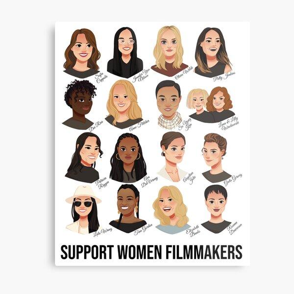 Support Women Filmmakers Metal Print
