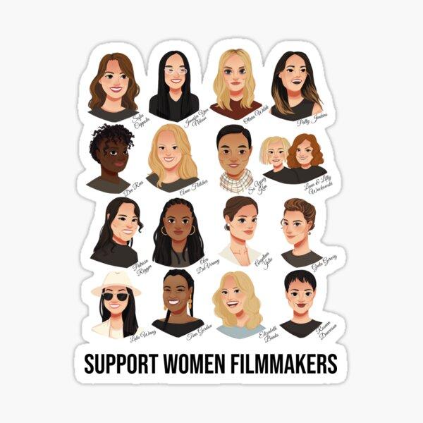 Support Women Filmmakers Sticker