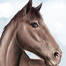 Brown horse by LauraMSS