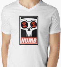 Obey the Numb$kull Men's V-Neck T-Shirt