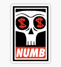 Obey the Numb$kull Sticker