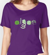 Literate Microscopic Algae Women's Relaxed Fit T-Shirt