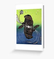Groundhog Day Greeting Card