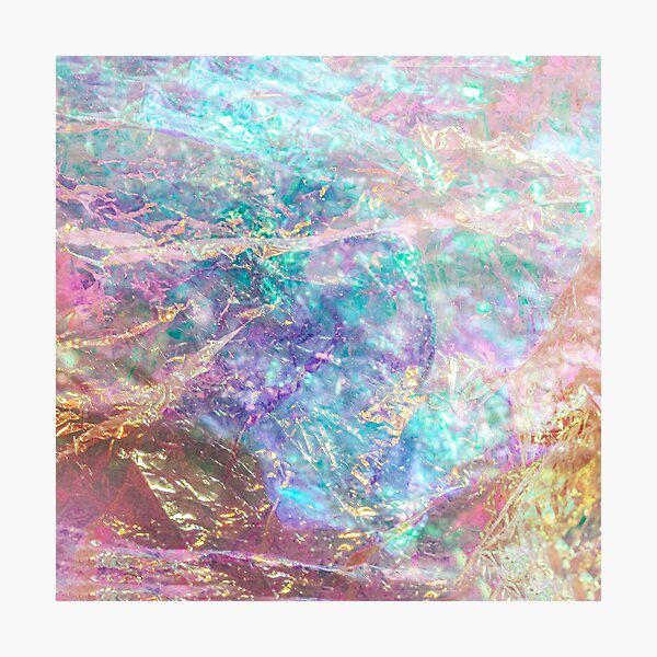 Prismatic ocean of light I Photographic Print