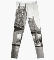 Legging NYC Queensboro Bridge Photograph