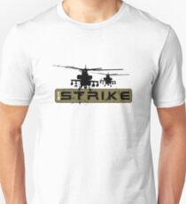 AH-64 Apache Helicopters Air Strike Unisex T-Shirt