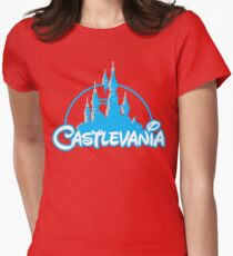 Castlevania Womens Fitted T-Shirt