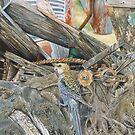 Bird on a Net von Graeme  Stevenson