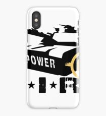 Army Tank Fire Power iPhone Case/Skin