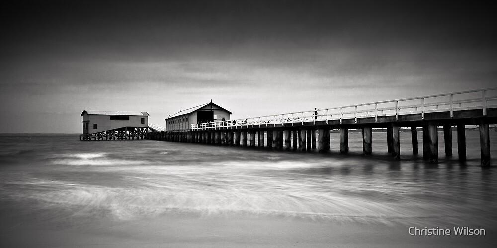 Queenscliff Pier by Christine Wilson