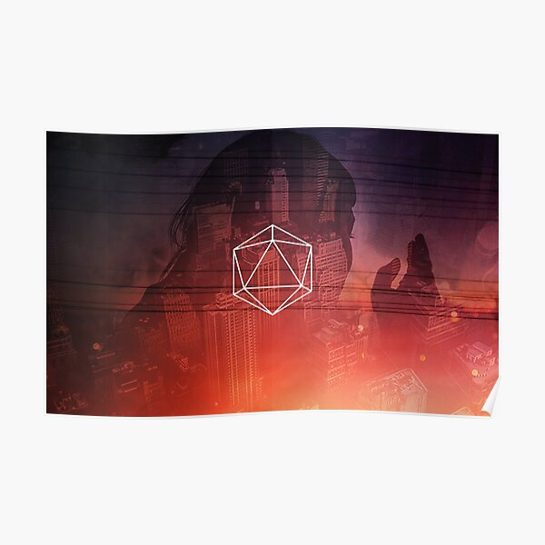 odesza wall cave papers town Poster