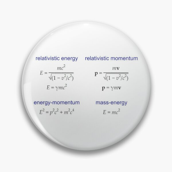 #Relativistic #Energy, #Momentum, #Mass, Physics Pin