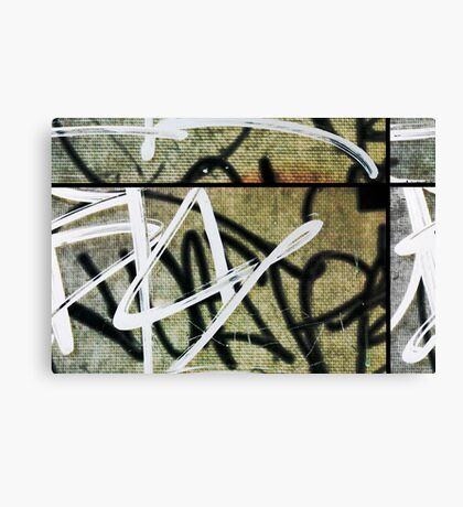 graffitiSectional Canvas Print