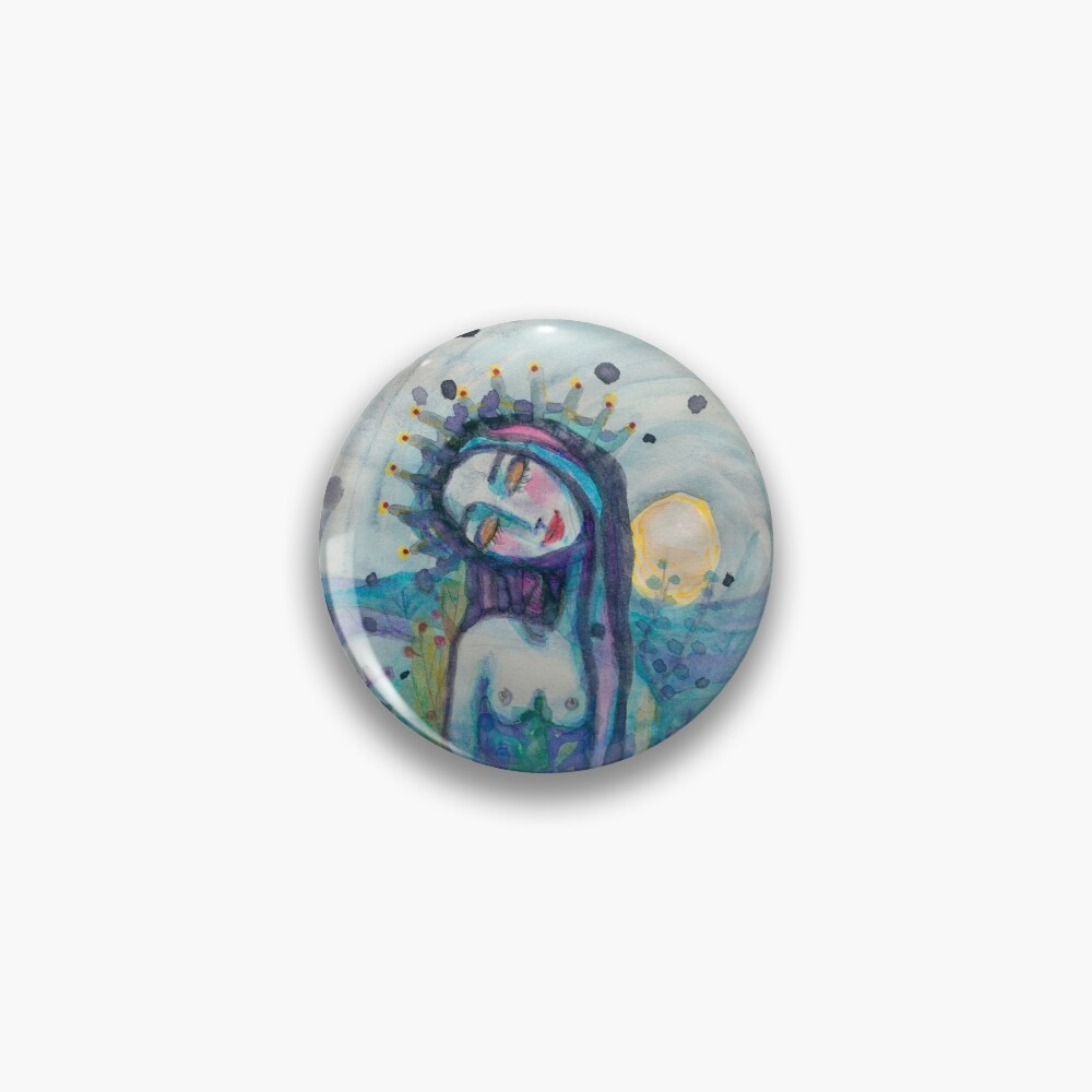 Blissful Nature  Pin