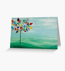 Rainbow Tree Greeting Card