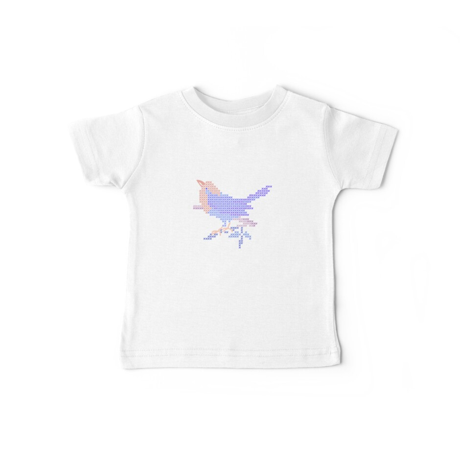 Embroidery Bird for Baby by meredithjean