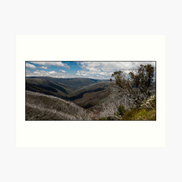 View from Mount Hotham Art Print