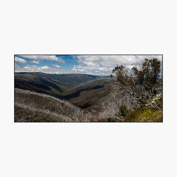 View from Mount Hotham Photographic Print