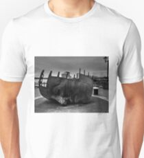 Face Sculpture At Mermaid Quay Cardiff Wales Unisex T-Shirt