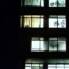 Night View From A Balcony by Lee Donavon Hardy