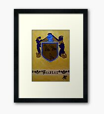 Brister - Coat of Arms Framed Print