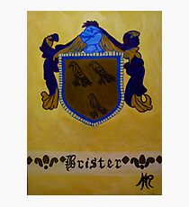 Brister - Coat of Arms Photographic Print