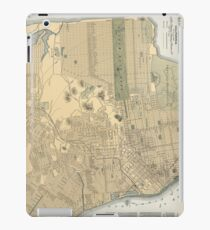 Vintage Map of San Francisco CA (1891) iPad Case/Skin