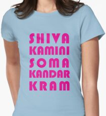 Shivakamini Somakandarkram Womens Fitted T-Shirt