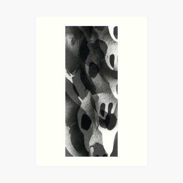 Deer Skull Print Art Print