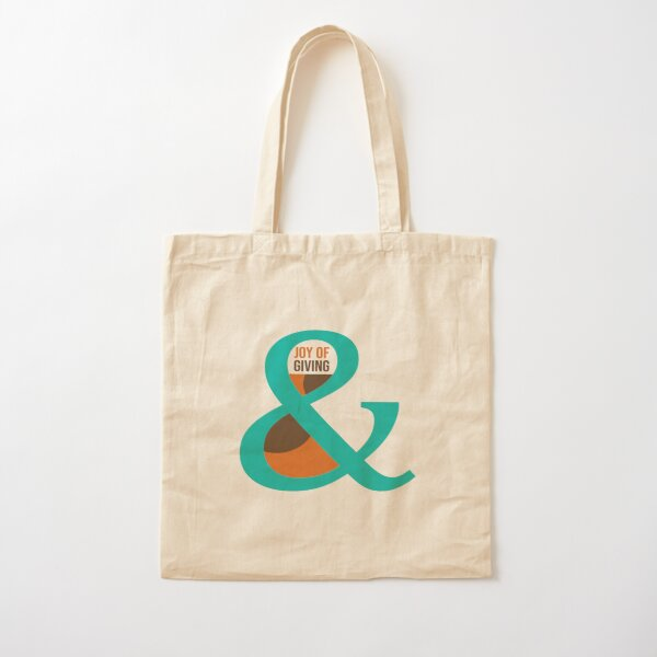 Joy of Giving Cotton Tote Bag