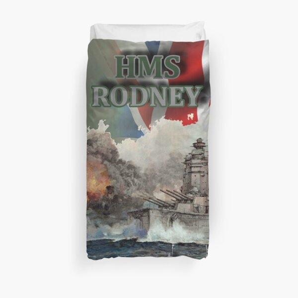 """""""HMS Rodney"""" Duvet Cover"""